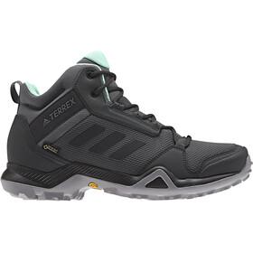 adidas TERREX AX3 Mid GTX Schuhe Damen grey five/core black/clemin